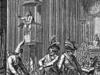 Zwolennicy Kultu Rozumu przejmują katedrę w Strasbourgu w trakcie Wielkiej Rewolucji.