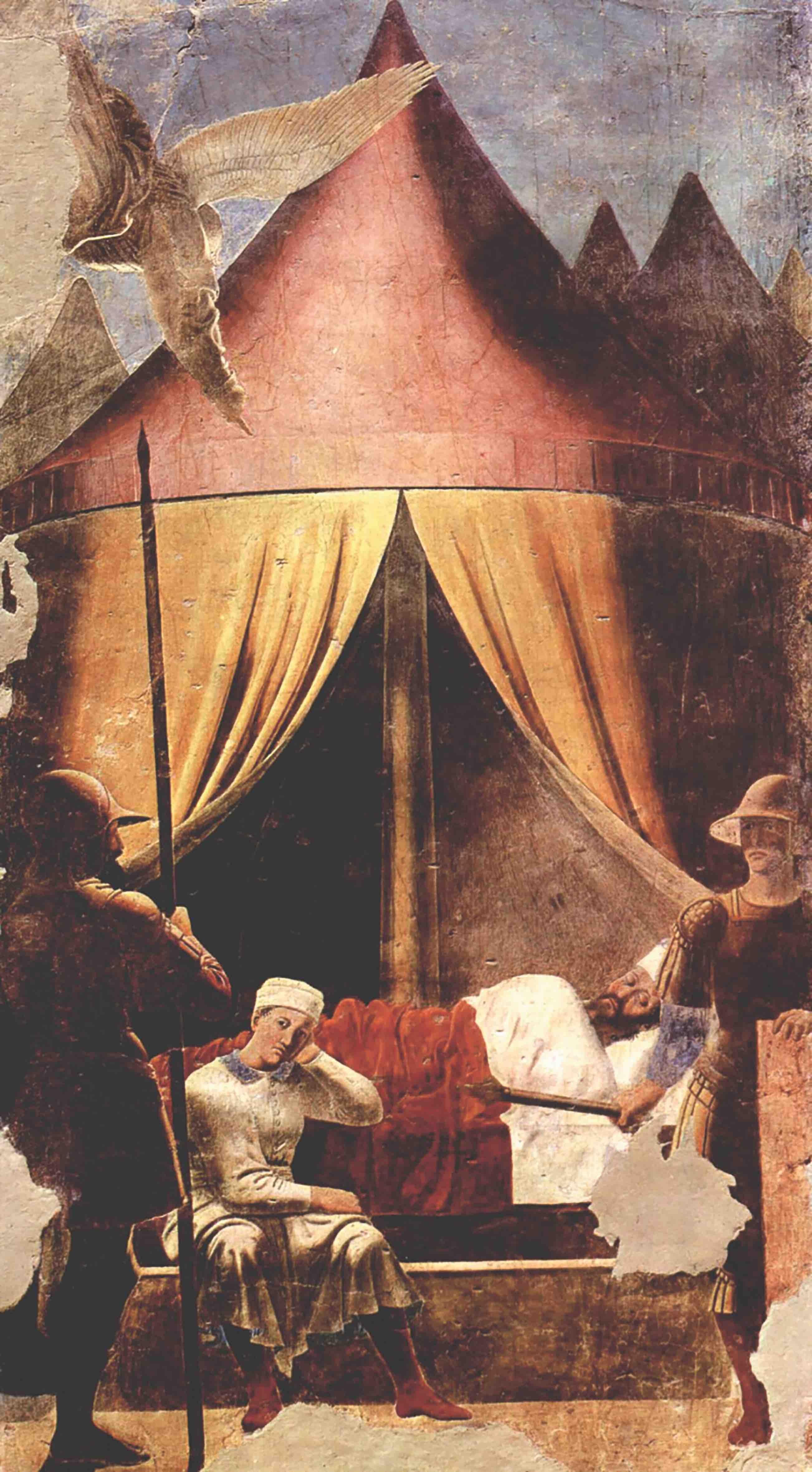 """Pierro della Francesca """"Sen Konstantyna"""""""""""
